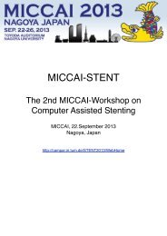 MICCAI-STENT - Chair for Computer Aided Medical Procedures and ...