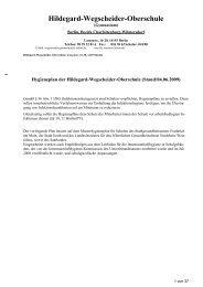 Stand:04.06.2009 - Hildegard-Wegscheider-Oberschule