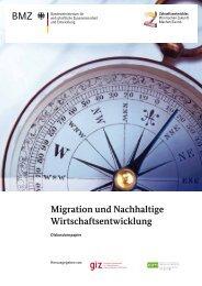 Migration und Nachhaltige Wirtschaftsentwicklung - GIZ