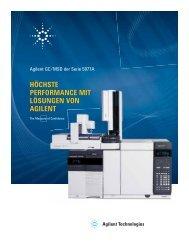 Das Agilent GC/MSD-System der Serie 5977A - Agilent Technologies