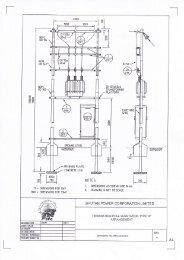 Drawings for Steel Tubular Poles - Bhutan Power Corporation Limited