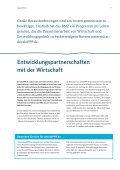 Entwicklungspartnerschaften mit der Wirtschaft - Seite 7