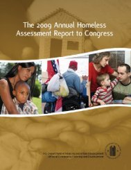 5th Homeless Assessment Report (AHAR) to Congress - OneCPD