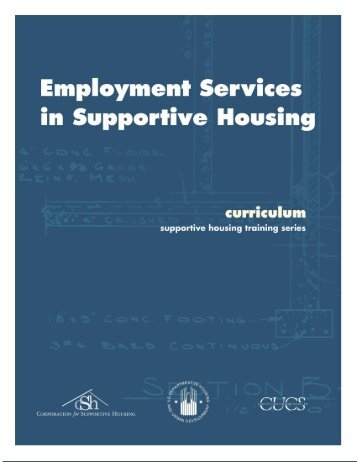 Employment Services in Supportive Housing - OneCPD
