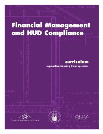 Financial Management and HUD Compliance - OneCPD