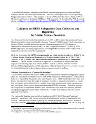 HPRP Data Collection Guidance for DV Providers - OneCPD