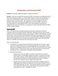 Ramping Down and Closing Out HPRP - OneCPD
