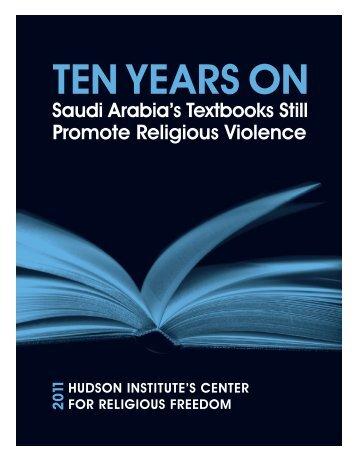 Ten Years On: - Hudson Institute