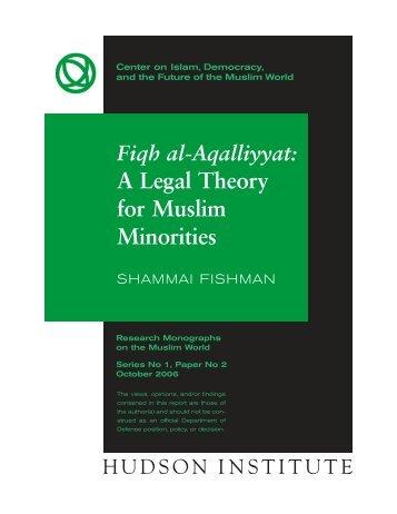 Monograph:Layout 1 - Hudson Institute