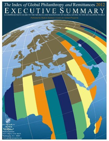 The 2012 Index of Global Philanthropy and - Hudson Institute