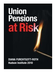 DFR Pension '10 trial:Layout 1 - Hudson Institute