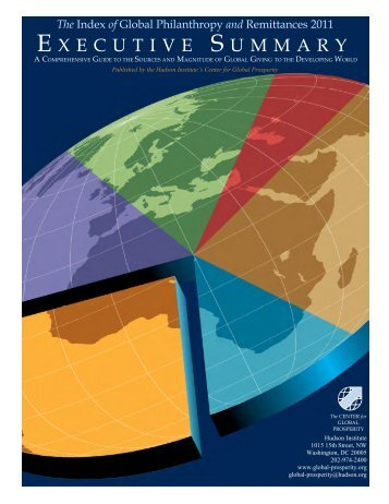 of Global Philanthropy and Remittances 2011 - Hudson Institute