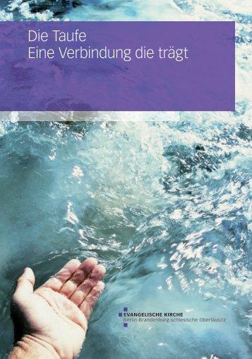 Die Taufe - Eine Verbindung, die trägt