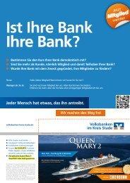Queen mary2 - Volksbank Geest eG