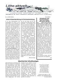 Abschied der Schultheologin - Wilhelm-Löhe-Schule