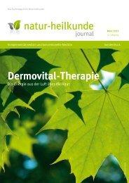 Dermovital-Therapie - Veröffentlichung im