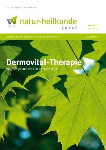 """Dermovital-Therapie - Veröffentlichung im """"natur ... - Airnergy"""