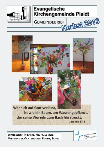 Gemeindebrief – Herbst 2013 (PDF) - Evangelische ...