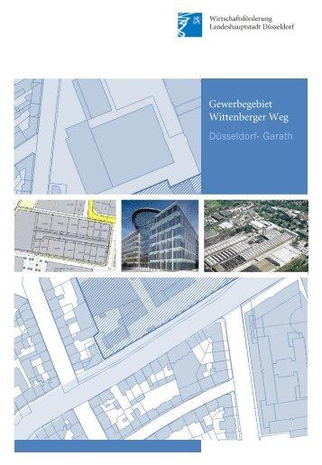 Gewerbegebiet Wittenberger Weg, Düsseldorf Garath