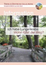Information Wohin führt der Weg? - Allgemeines Krankenhaus Celle