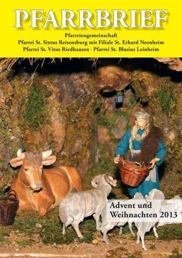 INNEN advent 2013.indd - Bistum Augsburg