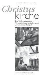 Aktuelle Ausgabe des Gemeindebriefes - Evangelische Kirche der ...