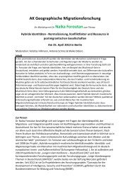 Hybride Identitäten - Normalisierung, Konfliktfaktor und Ressource ...