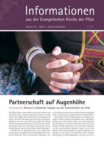 Informationen Nr. 137 - 3/2013 (PDF, 4.28 MB) - Evangelische ...