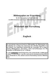 Englisch - Berufsbildung NRW