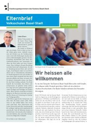 Elternbrief der Volksschulen - September 2013 — PDF document ...