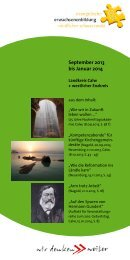 September 2013 bis Januar 2014 - Evangelische ...