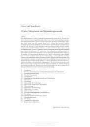 50 Jahre Valenztheorie und Dependenzgrammatik - KOBRA