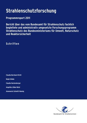 TB 03 Ergebnisse - DORIS - Bundesamt für Strahlenschutz