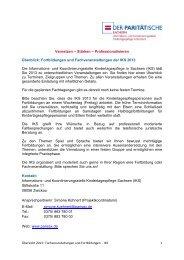 IKS Veranstaltungen und Fortbildungen 2013 - parisax.de