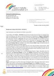 Info-Brief Studienreise Januar 2014.pdf - Deutsch-Indische ...