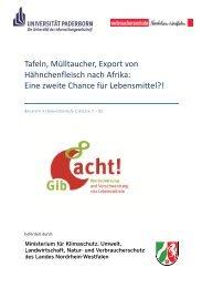 Baustein 3 - Ernährung und Verbraucherbildung