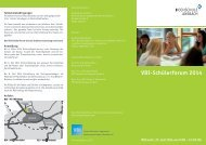 VDI-Schülerforum 2014 - Hochschule Ansbach