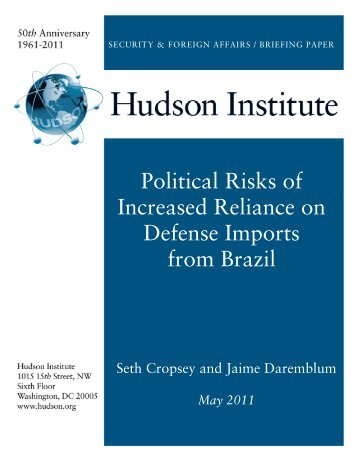 Political Risks of Increased Reliance on Defense - Hudson Institute
