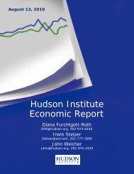 Hudson Institute Economic Report