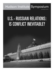 US-Russian Relations - Hudson Institute