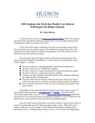 "CBO Explodes the Myth that the Budget Crisis is ""A Health Care ..."
