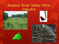 Wineries - The Hudson River Valley Institute
