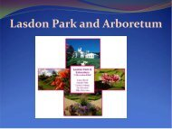 Lasdon Park and Arboretum - The Hudson River Valley Institute