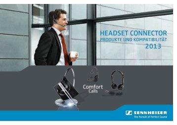 Headset CONNeCtOR 2013 - Sennheiser