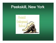 Peekskill, New York - The Hudson River Valley Institute