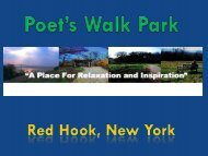 Poet's Walk Park - The Hudson River Valley Institute