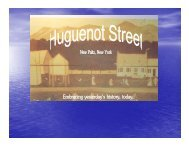 The history of Slavery at Huguenot Street - The Hudson River Valley ...
