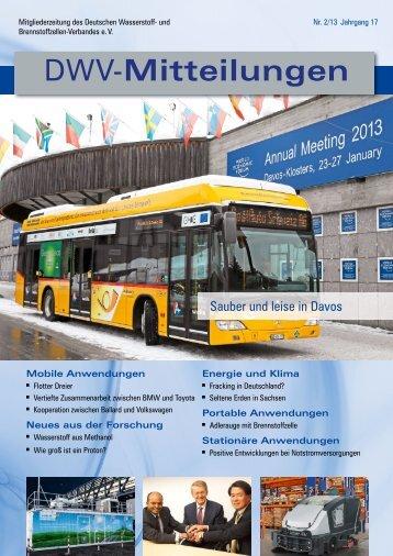 Hin- und hergewendet - Deutscher Wasserstoff-Verband (DWV)