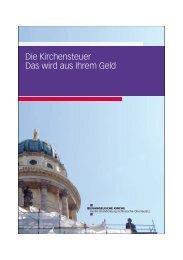 Die Kirchensteuer - Das wird aus Ihrem Geld