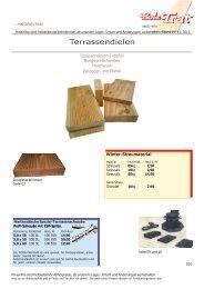 Gartenliste 2003 01-22 - Holz-TRAT Ideen in Holz